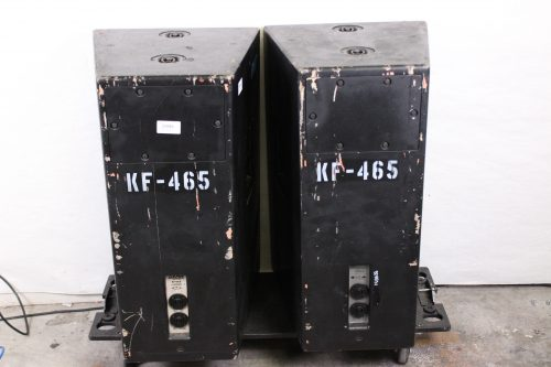 "EAW KF465 15"" 3-Way Loudspeaker NL4 Connection (Pair) Back"