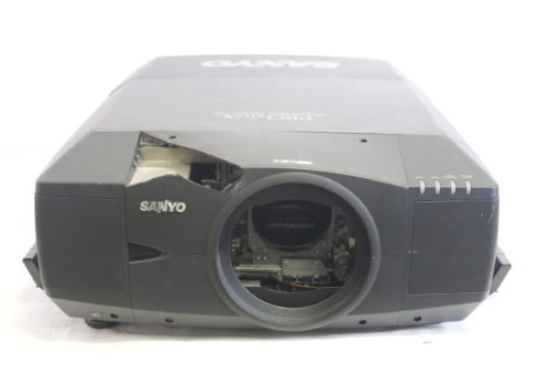 Sanyo PLC-XF46N LCD Digital Multimedia Projector w/ Road Case (No Lens Included) main