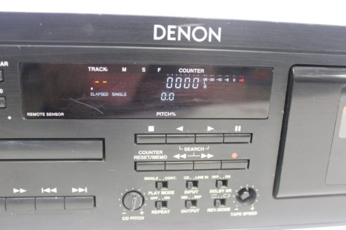 Denon DN-T620 CD Player front panel