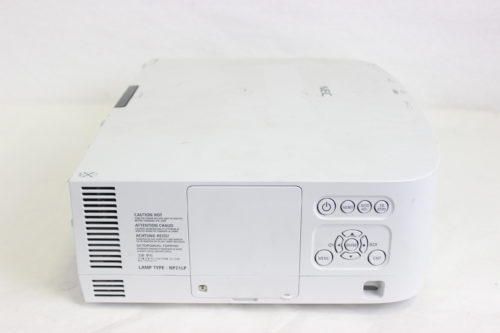 NEC NP-PA550W WXGA 3 LCD Large Venue Projector ( For Parts Only) Side
