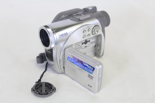 Panasonic VDR-M75PP Camcorder side open