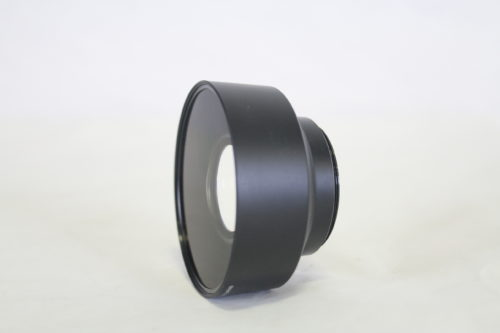Panasonic VW-W4607 Wide Conversion Lens side