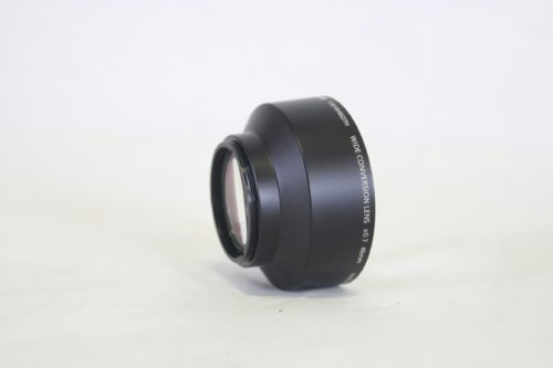 Panasonic VW-W4607 Wide Conversion Lens back angle