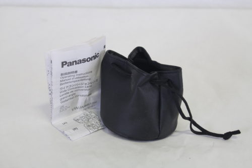 Panasonic VW-W4607 Wide Conversion Lens bag