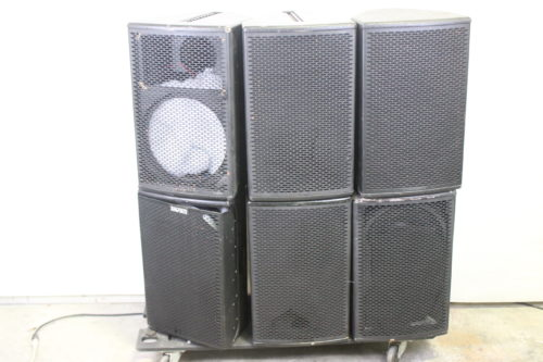 EAW JF 260zc JFX 260i JF 260z Loudspeakers (Lot of 6) (For Parts Only) FP1