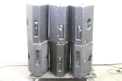 EAW JF 260zc JFX 260i JF 260z Loudspeakers (Lot of 6) (For Parts Only) FP2