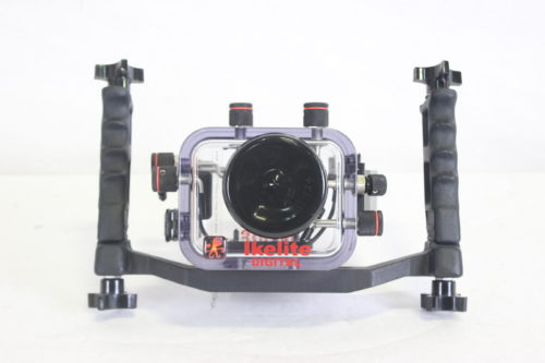 Ikelite 6039.07 Mechanical Underwater Video Housing for Sony HDR-HC7 Camcorder - Rated up to 200' FRONT11