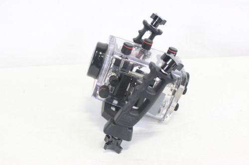 Ikelite 6039.07 Mechanical Underwater Video Housing for Sony HDR-HC7 Camcorder - Rated up to 200' SIDE1