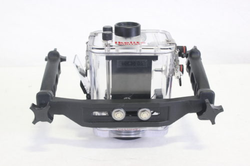 Ikelite 6039.07 Mechanical Underwater Video Housing for Sony HDR-HC7 Camcorder - Rated up to 200' REAR1