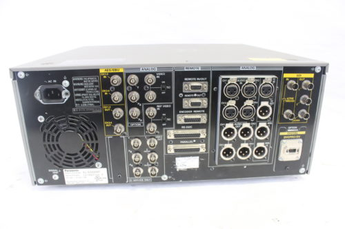 Panasonic AJ-SD930 DVCPRO Recorder rear1
