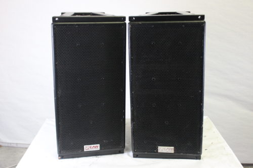 EAW KF300i 3-Way Full Range Loudspeaker(Pair) w/ Road Case front1