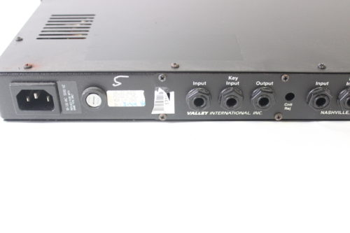 Valley International Gatex 4 Channel Noise Gate Expander Rack reare2