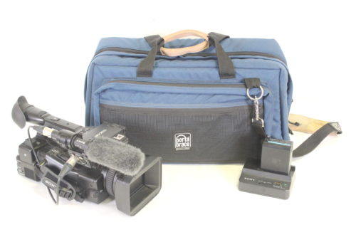 Sony PXW-X200 XDCAM Handheld Camcorder Kit w/ Porta Brace Bag (223 Hrs) Main