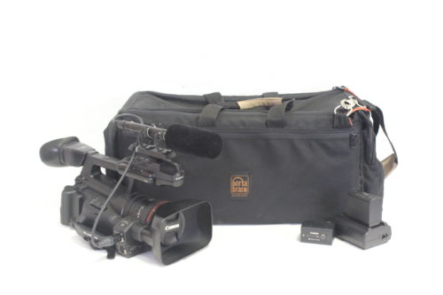 Canon XF300 Professional Camcorder Kit w/ Porta Brace Case (336 Hrs) Main