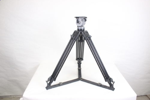 Miller DS-20 Aluminum Tripod System w/ Miller Carrying Case Black2
