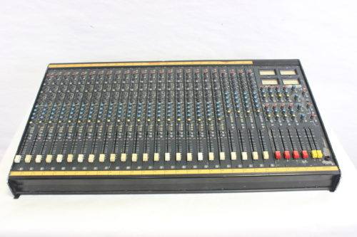Vintage Soundcraft 200B 24-Channel 4 Bus Analog Mixing Console w/ Road Case Main