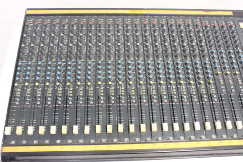 Vintage Soundcraft 200B 24-Channel 4 Bus Analog Mixing Console w/ Road Case Front2