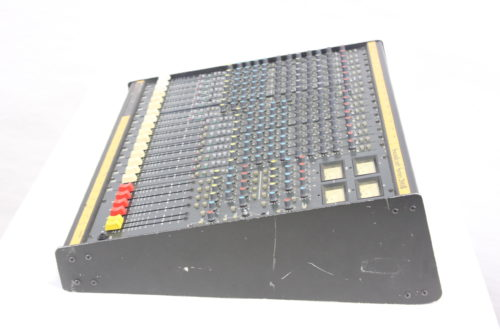 Vintage Soundcraft 200B 16-Channel 4 Bus Analog Mixing Console w/ Road Case (For Parts) Side2