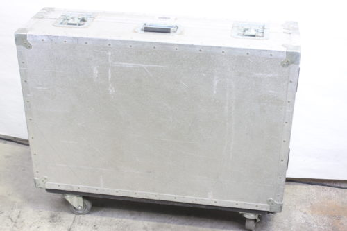 Vintage Soundcraft 200B 16-Channel 4 Bus Analog Mixing Console w/ Road Case (For Parts) Case1