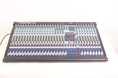 Midas Venice 320 Compact 32-Channel Mixer w/ Road Case Main