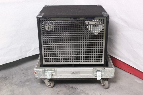 SWR Son of Bertha Bass Speaker Cabinet with Horn 350 Watts w/ Road Case Main