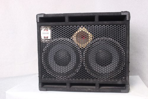 Eden D-210XLT Speaker Cabinet with Tweeter 350 Watts w/ Road Case Main