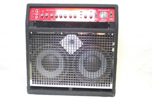 SWR Red Head All Tube Pre-Amp/240 Watt Power Amp Integrated Bass System front