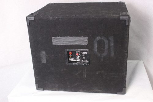 Eden D-210XLT Speaker Cabinet with Tweeter 350 Watts w/ Road Case Back
