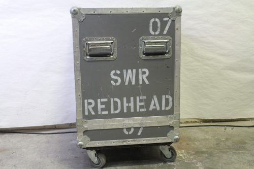 SWR Red Head All Tube Pre-Amp/240 Watt Power Amp Integrated Bass System case