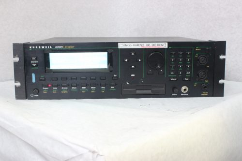 Kurzweil K2500RS Synthisizer / Sampler Rackmount Main