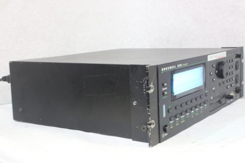 Kurzweil K2500RS Synthisizer / Sampler Rackmount Side1