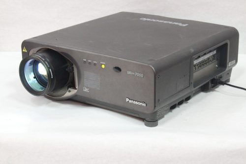 Panasonic PT-D7700U-K 3 Chip DLP Projector - 987 Lamp Hours (NO Lens) iso