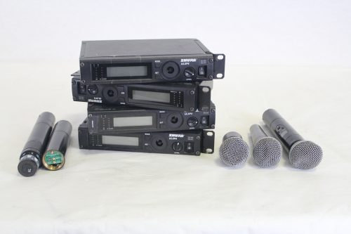 Shure ULXP4 Wireless Receiver System (Lot of 4 - For Parts) main