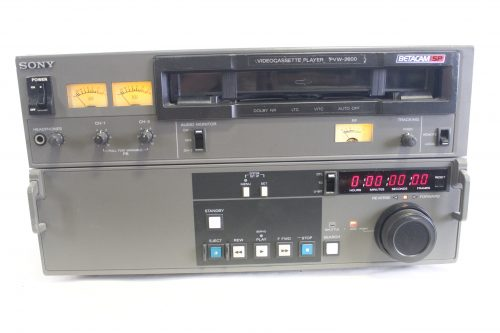 Sony Pvw-2600 Betacam SP Professional Video Recorder VCR Player (For Parts) MAIN1