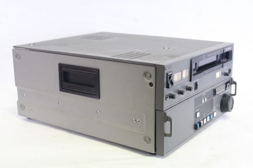 Sony Pvw-2600 Betacam SP Professional Video Recorder VCR Player (For Parts) SIDE1