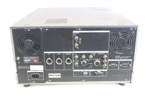 Sony Pvw-2600 Betacam SP Professional Video Recorder VCR Player (For Parts) BACK1