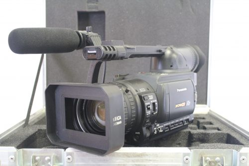 Panasonic AG-HVX200p 3-CCD P2/DVCPRO HD Format Camcorder w/ Case (FOR PARTS) main