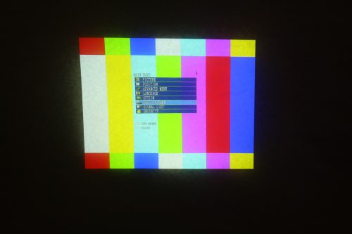 Panasonic PT-D7700 Projector (No Lens Included) working2
