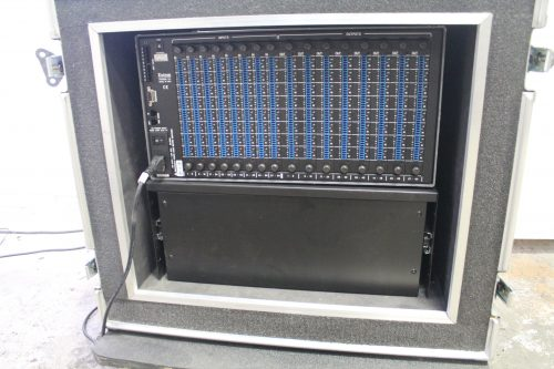 Extron Matrix 6400 Wideband Video Switcher Router in Case rear