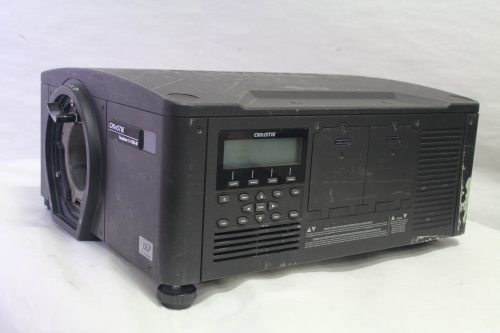 Christie Roadster S+10K-M Digital Projector (No Lens Included) side