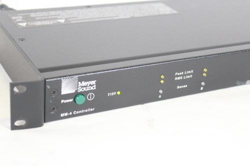 Meyer Sound MM-4 Controller MM-4CEU Two-Channel Single Rack Space Unit iso