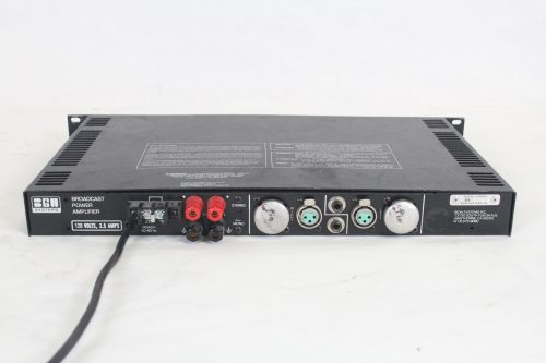 BGW Broadcast Power Amplifier (Buttons Missing - Functions Properly) rear1