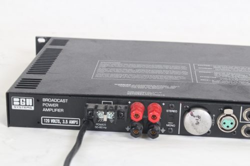 BGW Broadcast Power Amplifier (Buttons Missing - Functions Properly) rear3