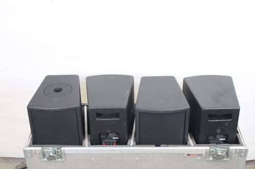 Audio Stage Design S265 Speakers w/ Case (Lot of 4) in case
