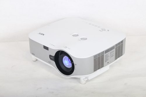 NEC NP3250W Projector WXGA Projector w/ NP02ZL Lens (1243 hrs) iso2