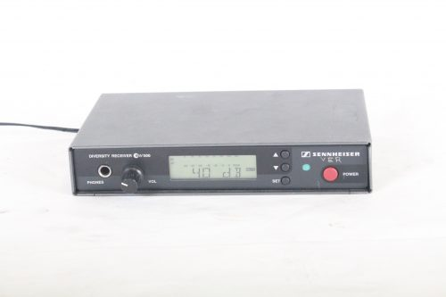 Sennheiser Diversity Receiver EW500 Wireless Receiver 630-662 MHz (No Microphone Included) front