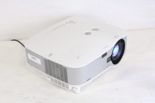 NEC NP1250 Professional Installation Projector w/ NP02ZL Lens (240 hrs) iso