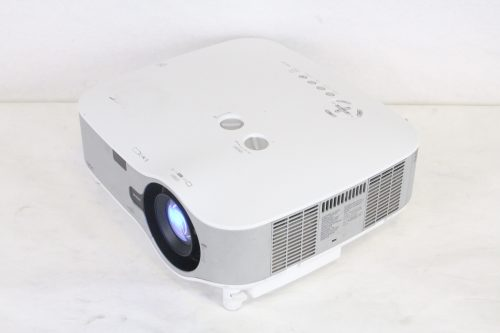 NEC NP1250 Professional Installation Projector w/ NP02ZL Lens (240 hrs) iso2