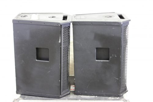 APL-500 Powered Loudspeaker Cabinet in Case (Pair) SIDE