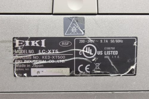 EIKI LC-XT5 Projector (No Lens Included) tag